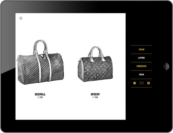 Louis Vuitton City Bags: A Natural History App for iPhone