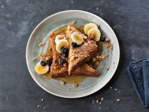 Apple Cider French Toast with Streusel