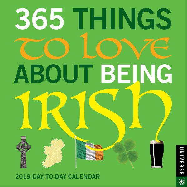365 Things to Love About Being Irish Calendar 2019