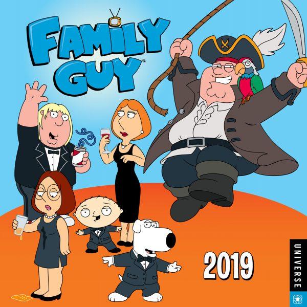 Family Guy Calendar 2019