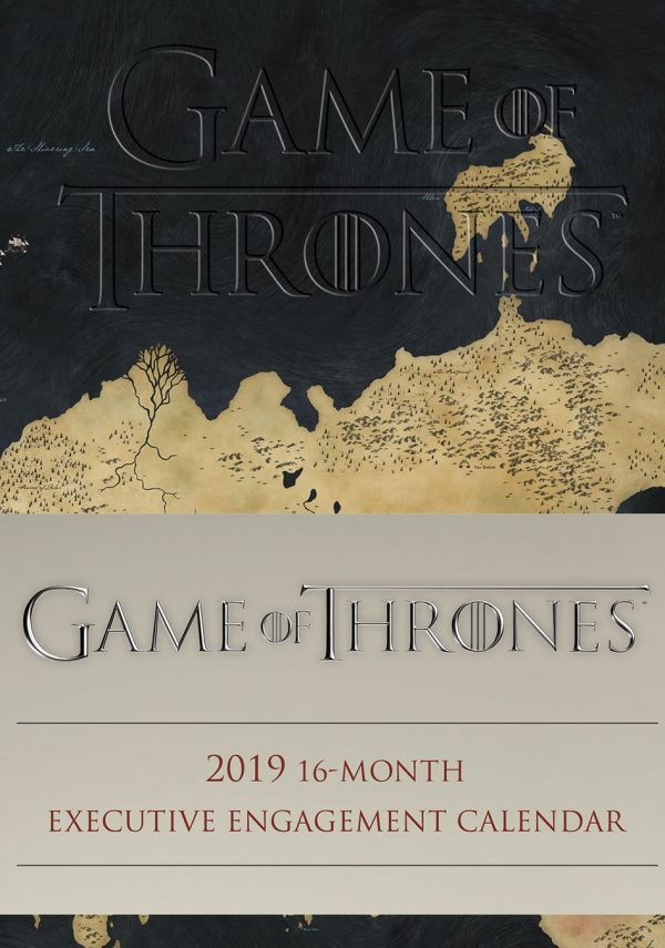 Game of Thrones Calendar 2019