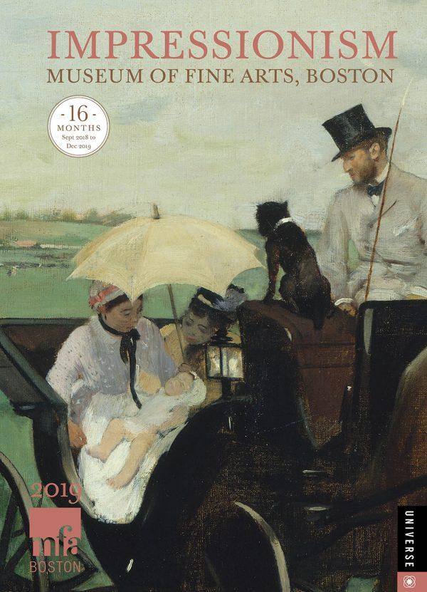 Impressionism Calendar 2019