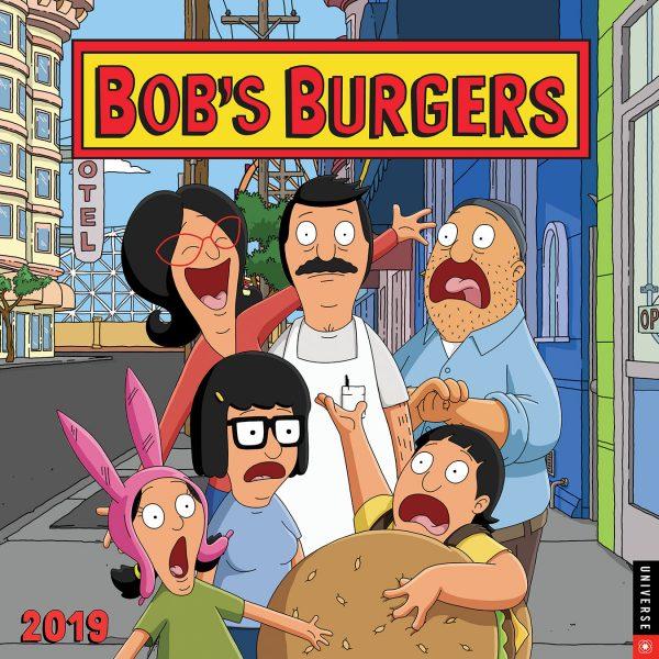 Bob's Burgers Calendar 2019