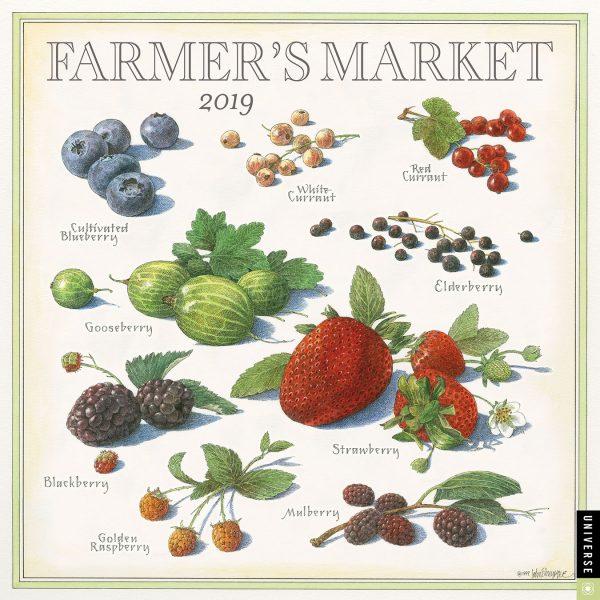 Farmer's Market Calendar 2019