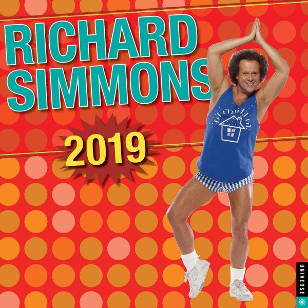 Richard Simmons Calendar 2019